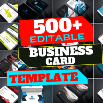 500+ Editable High Quality Business Card Template Cheap Price 2021