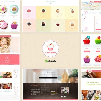 Best Cake Shop - Shopify Theme for Bakery and Cafe Cheap Price