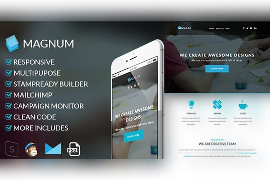Best Magnum-Responsive Email Template Cheap Price