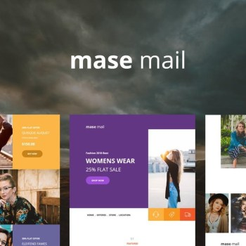 Best Mase Mail - Responsive E-mail Template Cheap Price