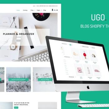 Best Ugo - Blog Store Shopify Theme Cheap Price
