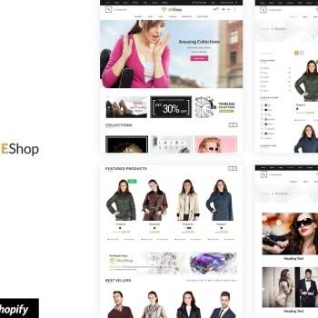 Best dEShop - Responsive Shopify Store Template Cheap Price