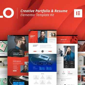 CFLO-Creative Portfolio & Resume Template Kit cheap price