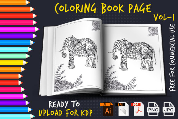 600+ High converting Kids & Adults Coloring Book Ready For Upload