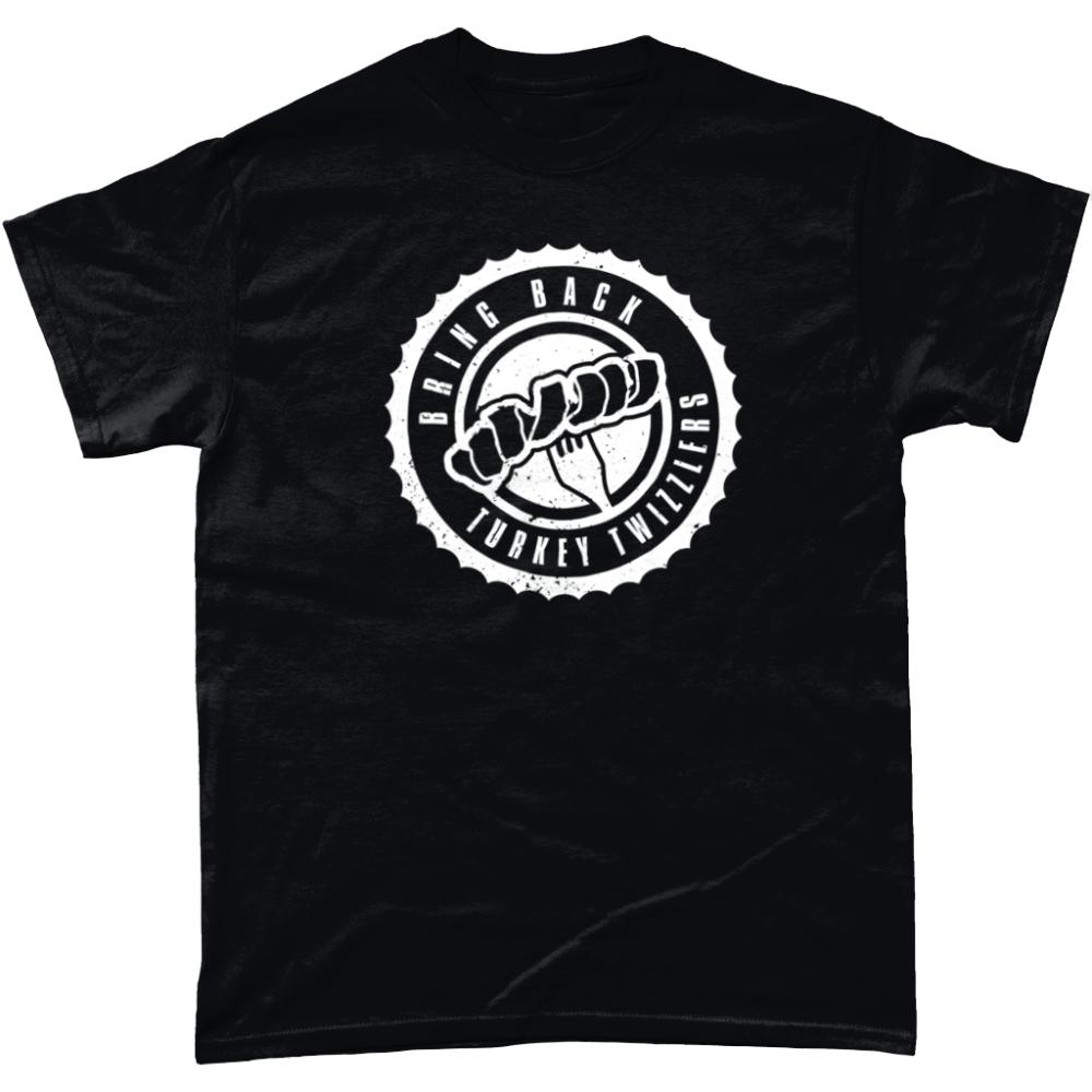 Bring Back Turkey Twizzlers T Shirt Design Black