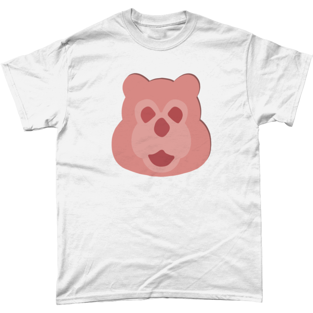 Billy Bear Ham T Shirt White