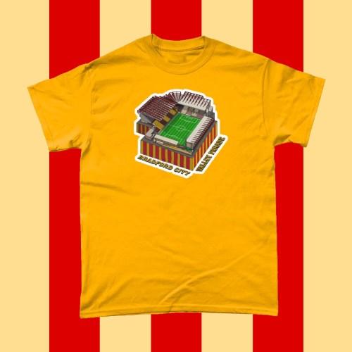Bradford City Valley Parade Football Stadium T Shirt