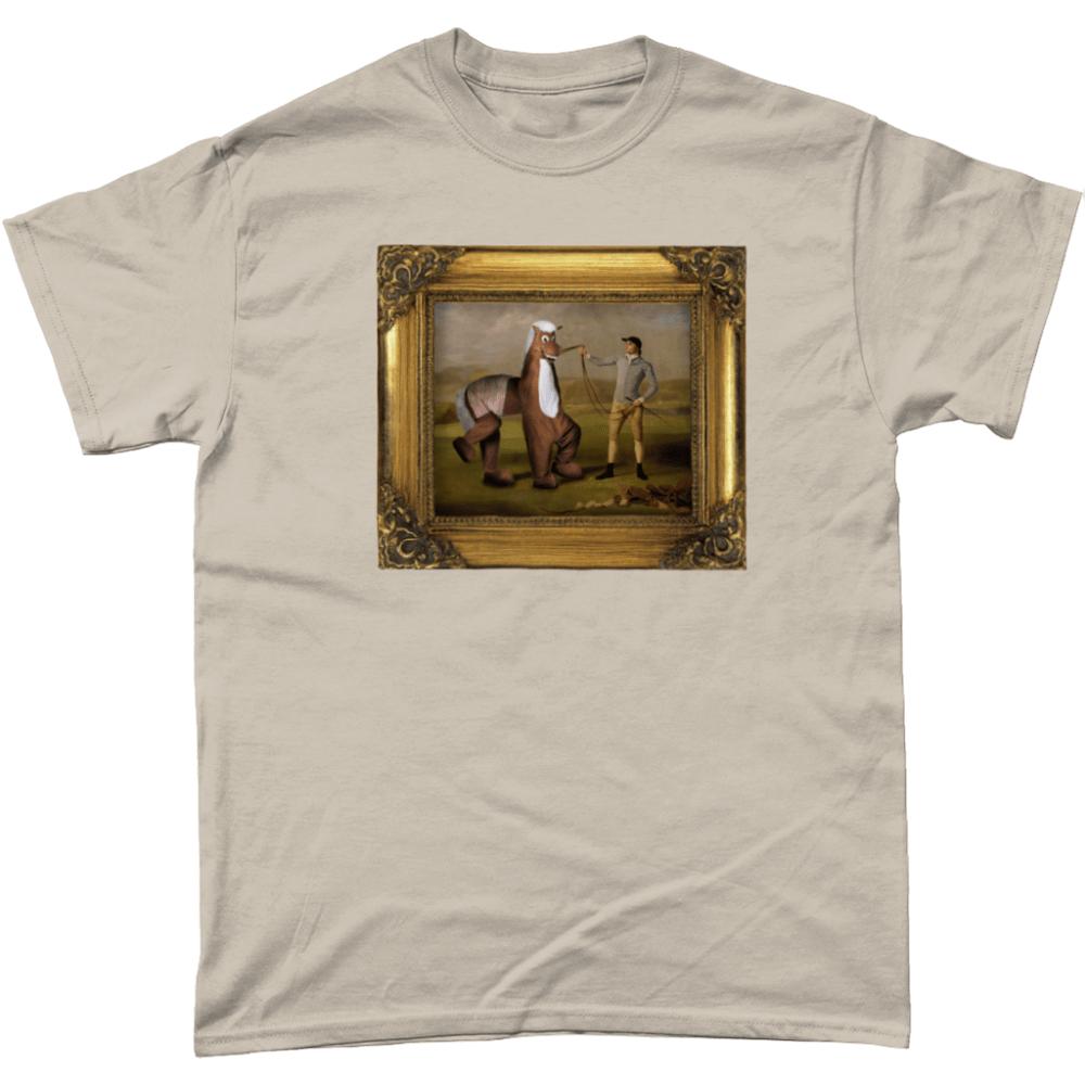 Pantomime Horse Panto Painting T Shirt Sand