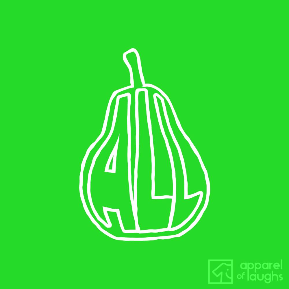 All Gone Pear Shaped T Shirt Design Antique Irish Green