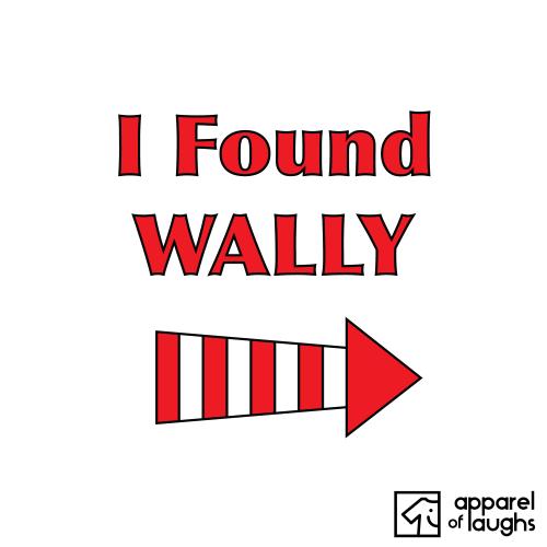 I Found Wheres Wally T Shirt Design White