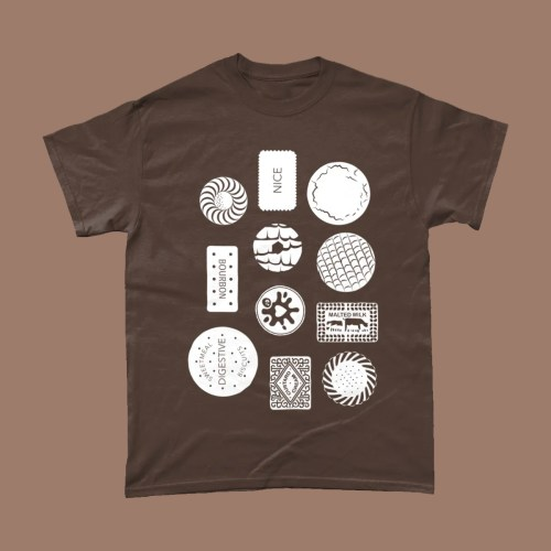 Biscuit Selection Custard Cream Bourbon T Shirt