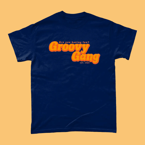 Groovy Gang Only Fools and Horses Men's T-Shirt Navy
