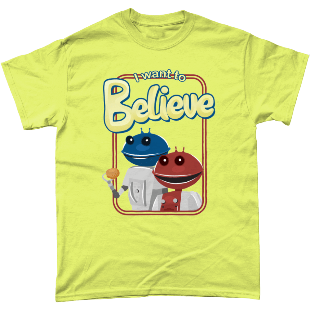 Smash Robots British TV Cadbury Advert Men's T-Shirt Cornsilk