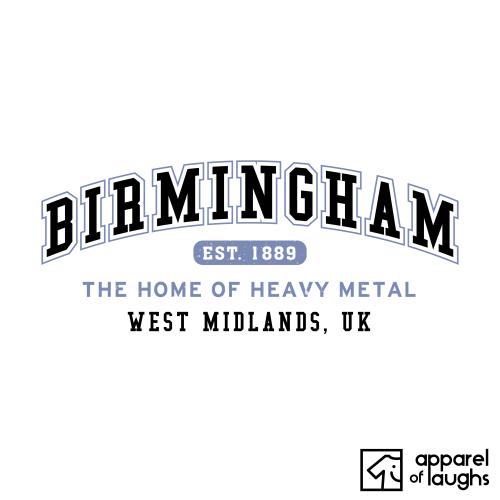 Birmingham City Men's T-Shirt Women's Hoodie British Places White