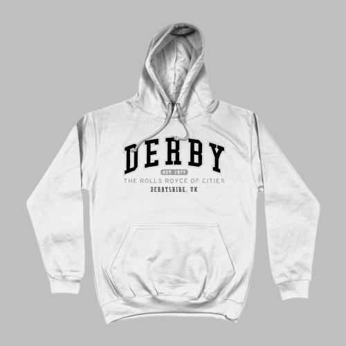 Derby City Men's Apparel Women's Hoodie British Places White