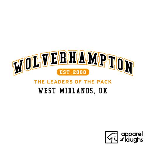 Wolverhampton City Men's T-Shirt Women's Hoodie British Places White