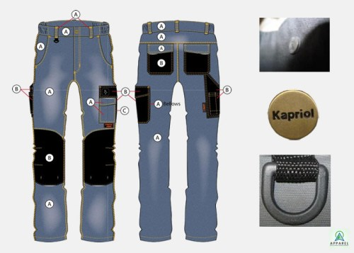 Tenere Pro Jeans by Apparel Solutions