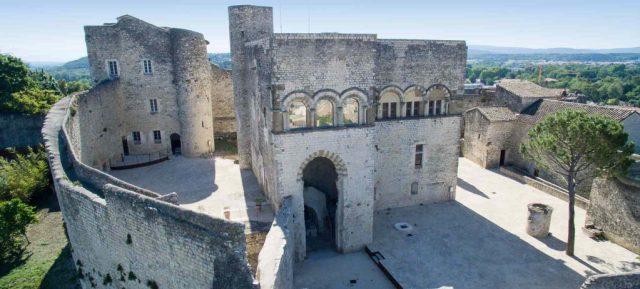 arcades fenetre chateau montélimar