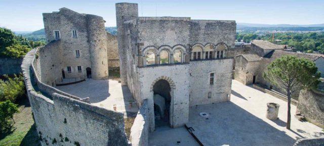 drome provençale chateau montelimar