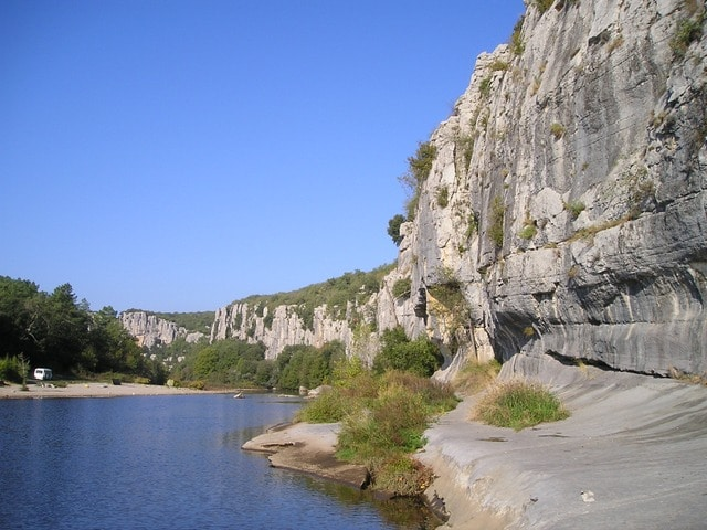 Excursion à Gorges de l'Ardèche