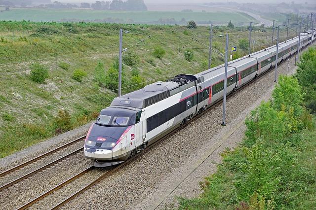 Voyage en train à Montélimar