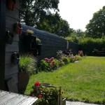 Vakantiehuisje / Vakantieappartement Kortgene Noord-Beveland Zeeland - Overzicht tuin