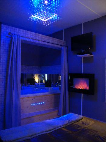 Chambre Suite Avec Jacuzzi Et Sauna Priv Grenoble