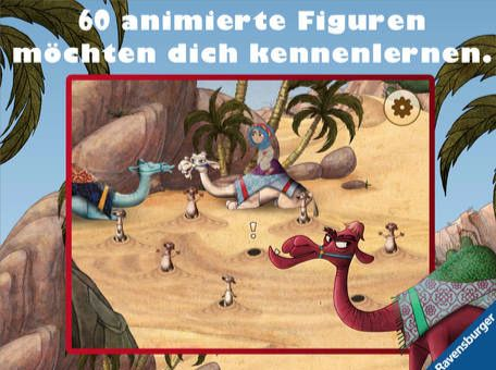 60 animierte Figuren - Abb. (c) Ravensburger via iTunes