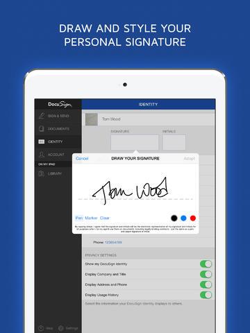 DocuSign  iPad  English  Evernote App Center