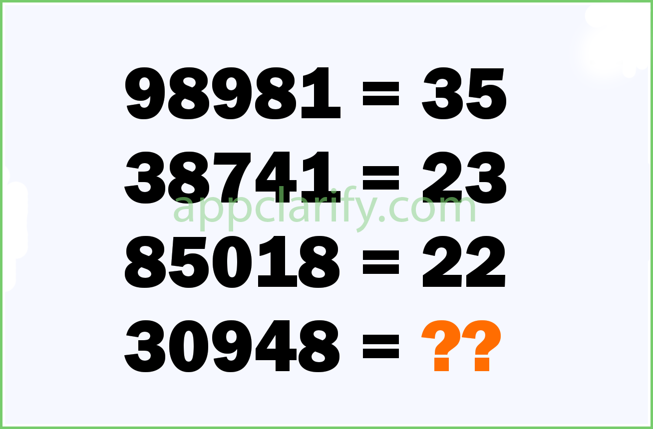Numbers Quiz Level 178 Answer