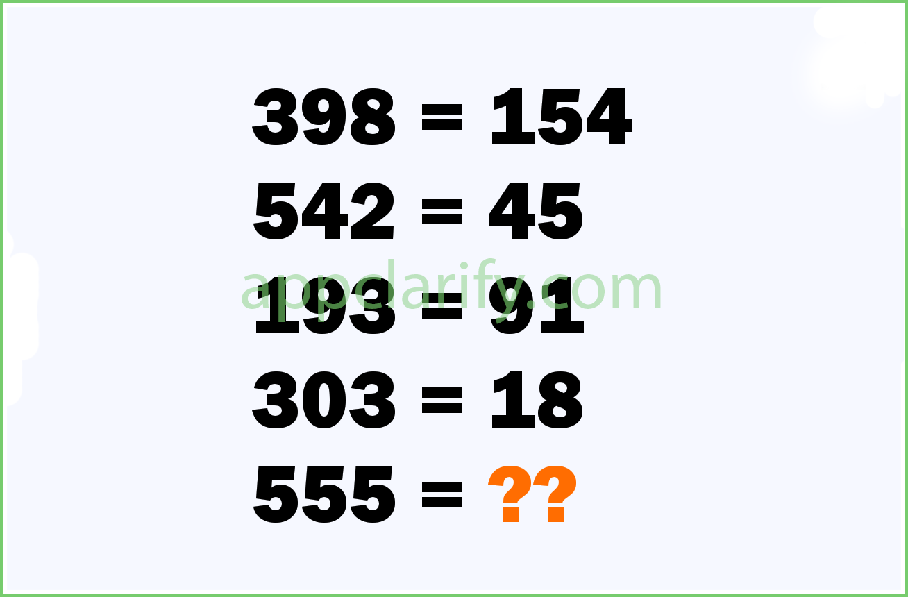 Numbers Quiz Level 182 Answer