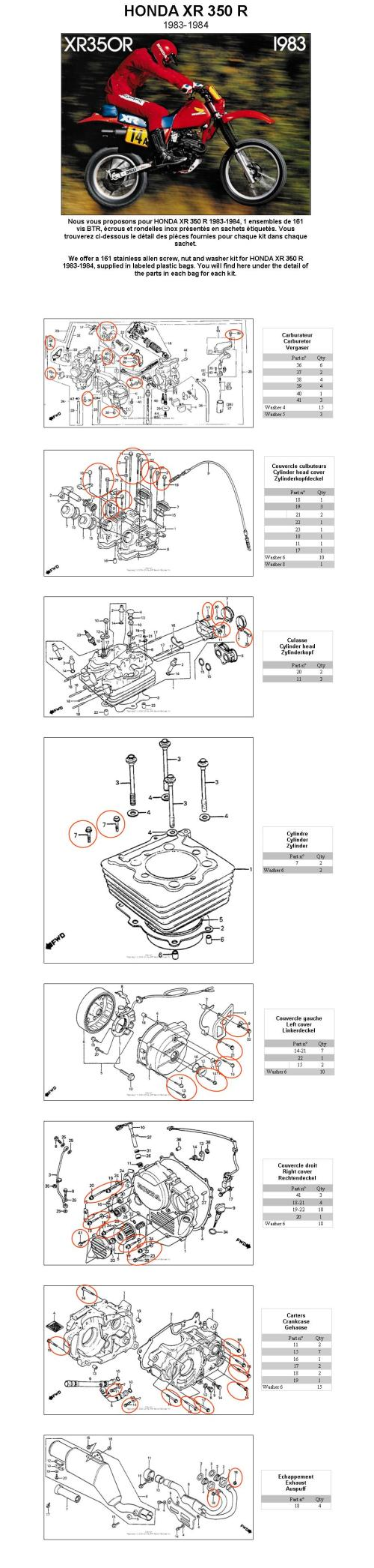 small resolution of xr350r wiring diagram