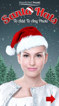 Add Hats To Photos Free : photos, Santa, Appdicted