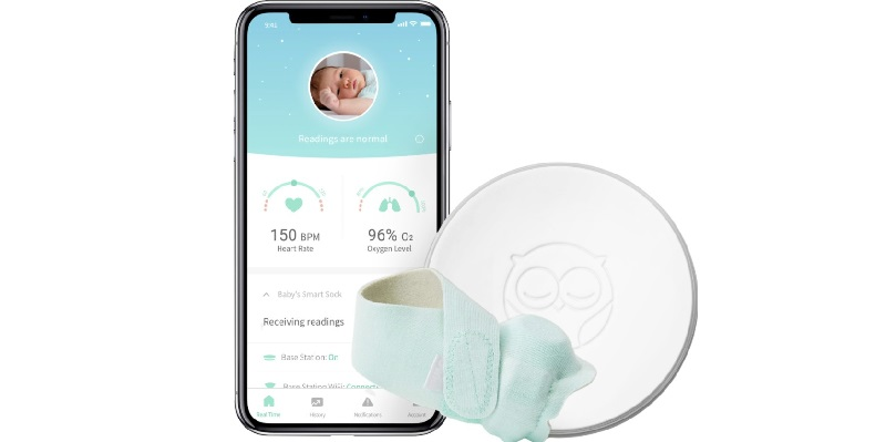 How to turn on/off or reset an Owlet Sock   AppDrum