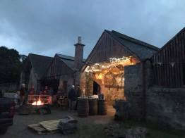 BBQ at the Black Isle Brewery