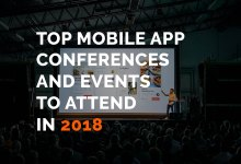 Mobile app conferences to attend in 2018