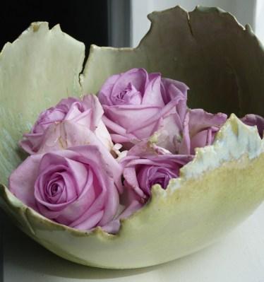 schaal met rozen
