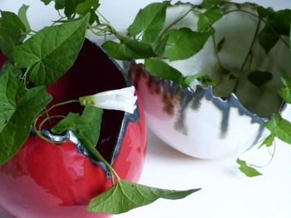 rood en parelmoer ei - groen