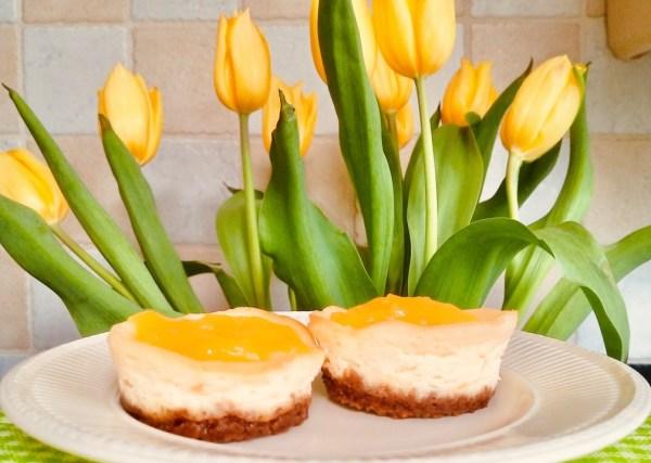 lemon curd cheesecake mini