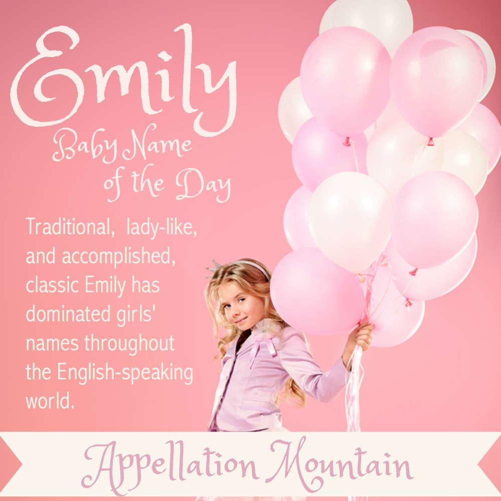 Baby Name Emilia