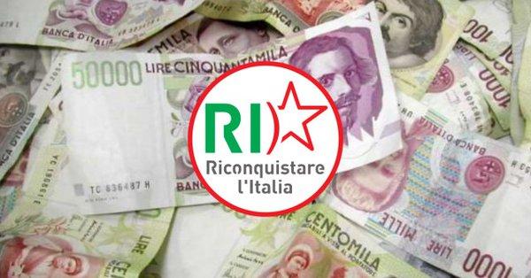 Programma di Riconquistare l'Italia per la Regione Lazio: tributi regionali