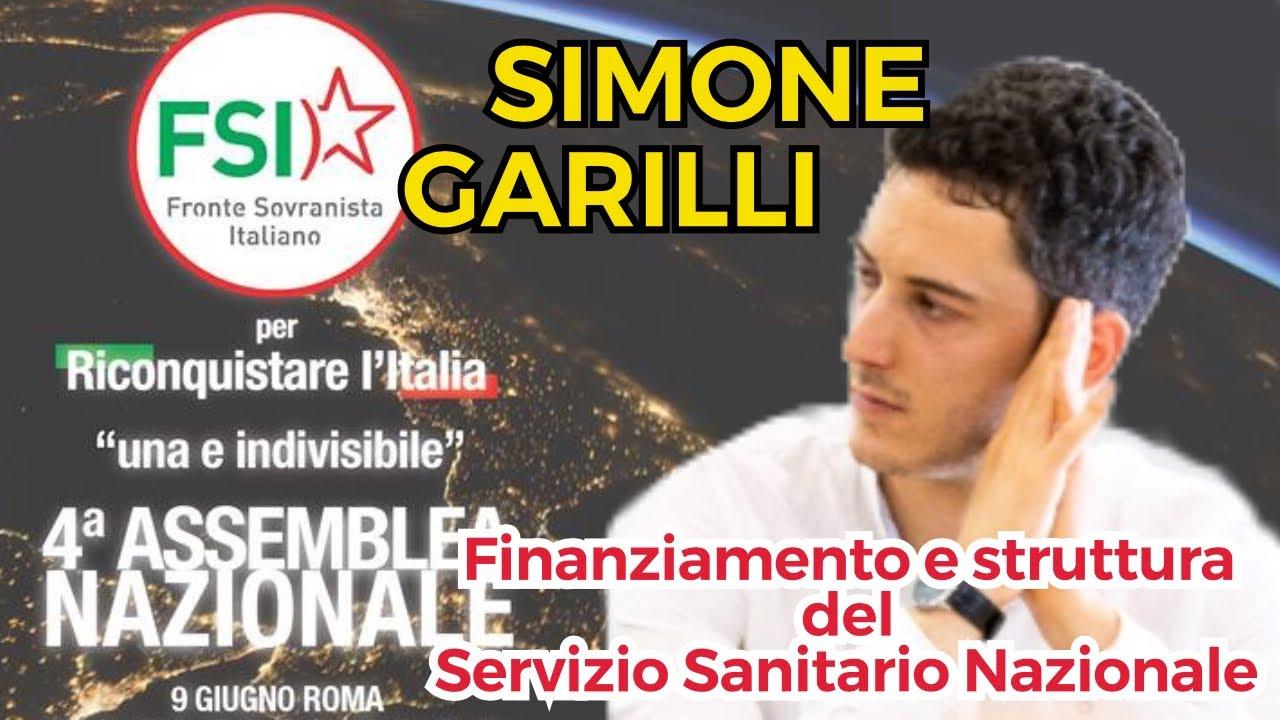 Finanziamento e struttura del Servizio Sanitario Nazionale – intervento di Simone Garilli alla 4ª Assemblea nazionale del FSI