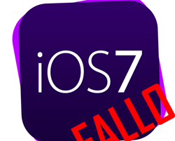 fallo iOS 7 en iphone 4
