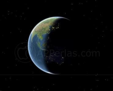 Visualiza la sombra de la tierra en los mapas de Apple. ¿Dónde es de noche y dónde de día?