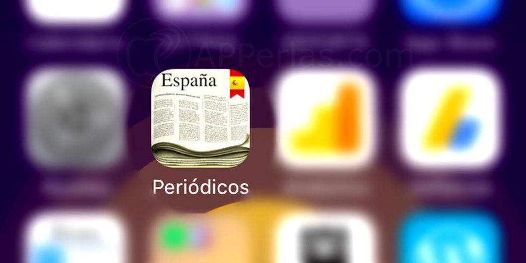 App Periódicos Españoles