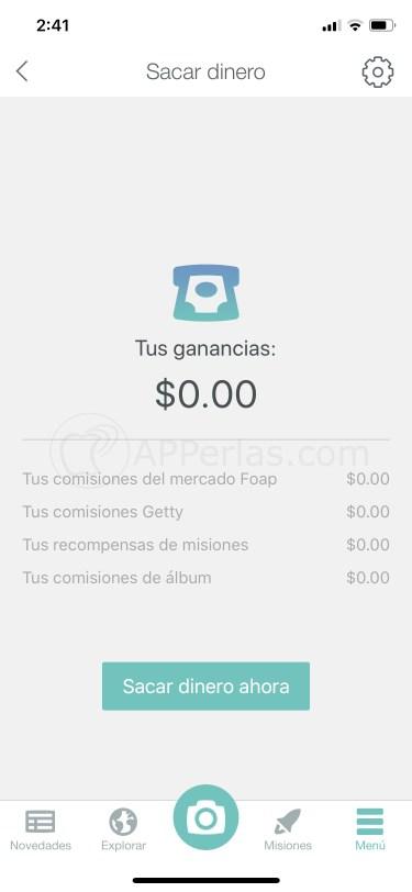 Vender fotos en FOAP