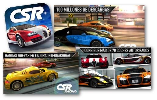 CSR Racing buen juego de coches