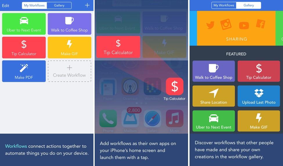 Workflow una de las mejores aplicaciones de 2015