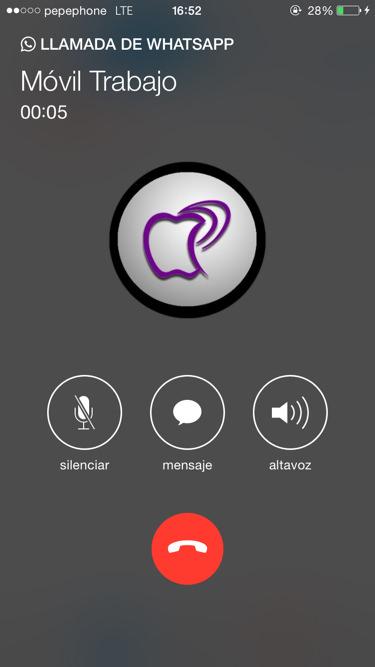 Como son las llamadas de Whatsapp