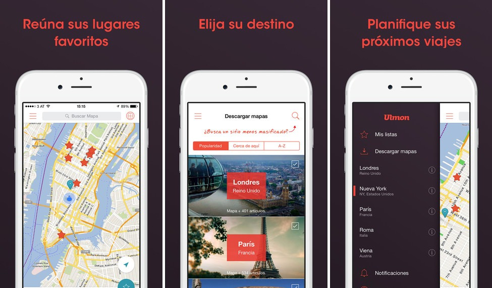 mejor navegador gps para iPhone 1 City maps 2go pro compo